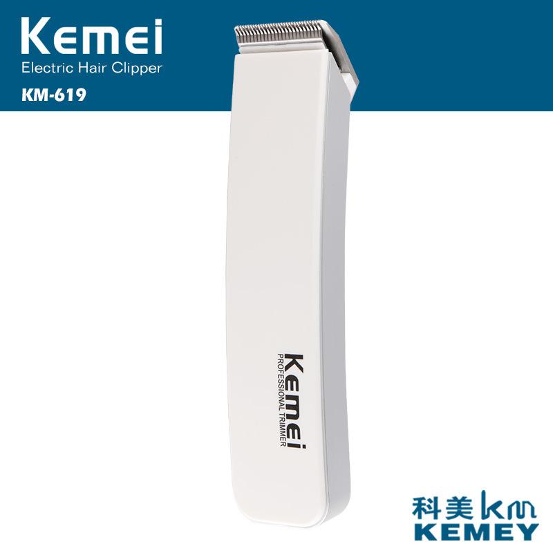 Rechargeable Electric Hair Cipper Shaving Shaver Machine Razor Barber Cutting Beard Trimmer Haircut Set Cordless KEMEI KM-619-3