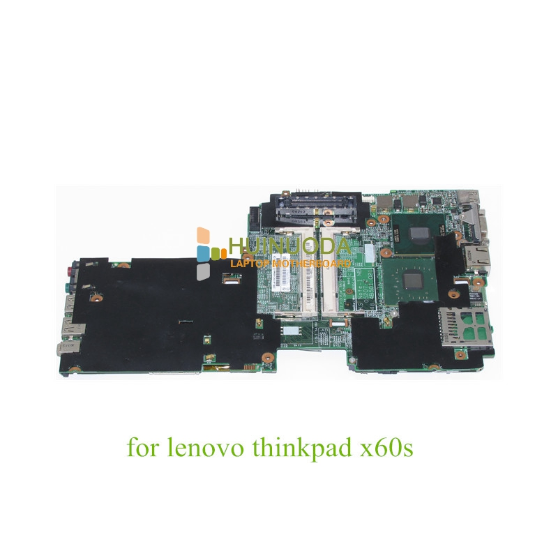 NOKOTION FRU 42T0019 For IBM Lenovo X60s ThinkPad Motherboard System Board 48.4B501.021 L2400 1.66Ghz CPU DDR2 материнская плата для пк for lenovo lenovo ibm thinkpad t400 fru 63y1189