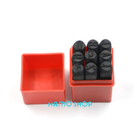 Number Die Letter Steel Stamp Punch 10mm ALPHABET Jewelers Set Choice 9pcs Lot
