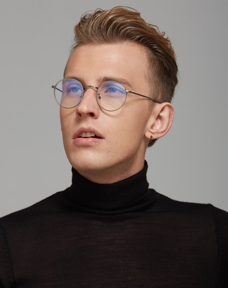 Clear Glasses With Gold Frame Men