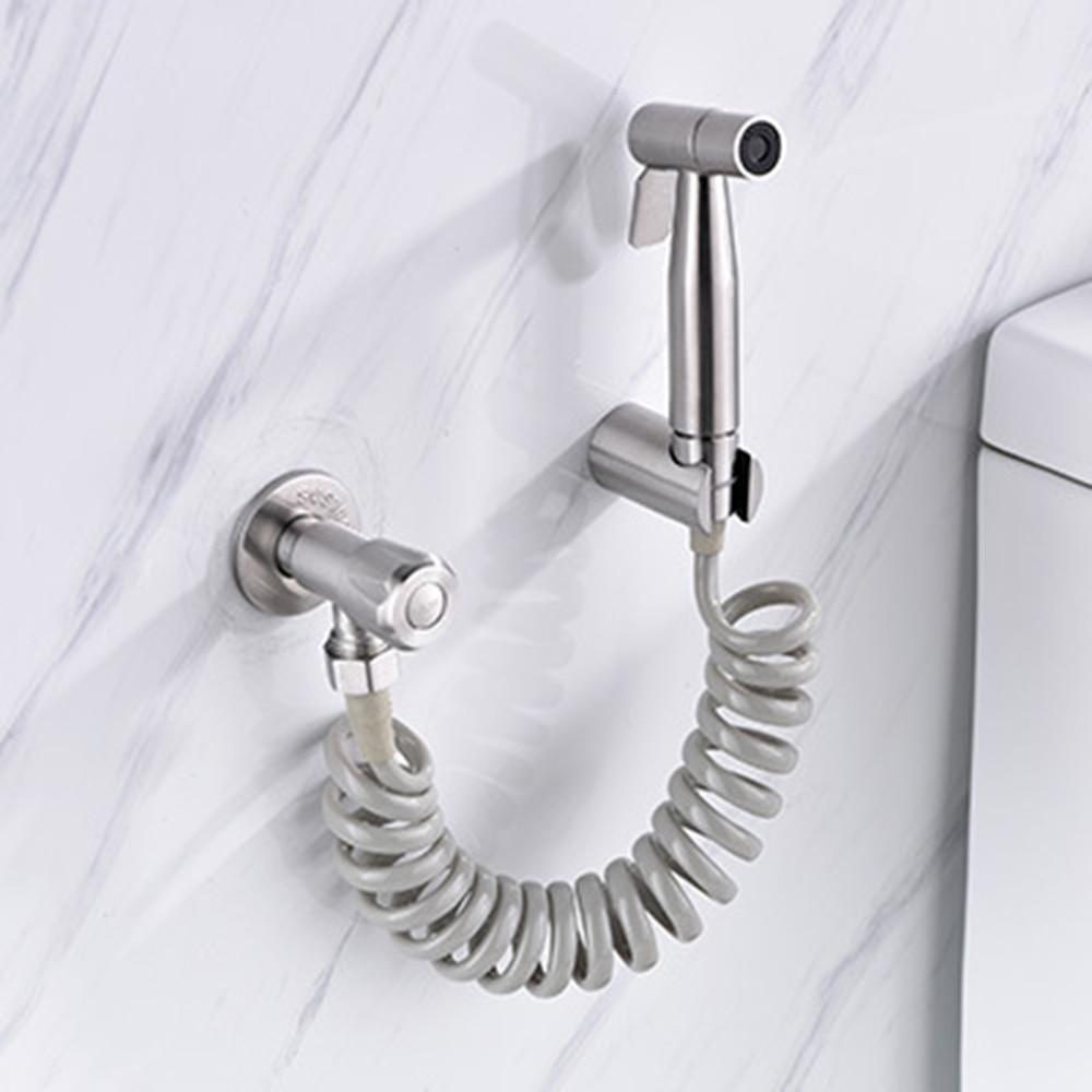 2019 Neuer Stil Edelstahl Wc Bidet Wasserhahn Set Handheld Hygienische Dusche Tragbare Bidet Sprayer Pistolen Wc-sitz Bidet Hause Hand Spray Heimwerker