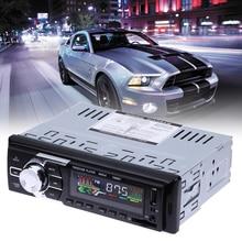 12 В 1 DIN Автомобильный MP3-плеер Поддержка usb/sd/mmc fm Hands-Free Звонки автомобиль Радио Bluetooth музыка плеер с пульта дистанционного управления Новый
