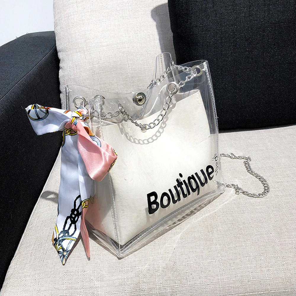 2019 New Design Transparent Bag for women Clear PVC Jelly Small Tote Summer Beach Bag Messenger Shoulder Bags2019 New Design Transparent Bag for women Clear PVC Jelly Small Tote Summer Beach Bag Messenger Shoulder Bags