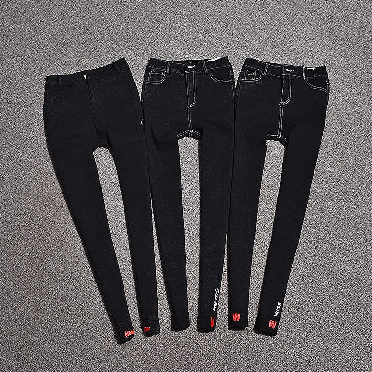2018 autumn and winter new women Stretch pantsTrousers   Pants     Capris   stretch high waist   pants   Slim   pants   Wearing leggings tide