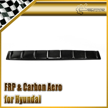 Car-styling For Hyundai Genesis Rohens Coupe 2008-2012 Carbon Fiber Vortex Generator Roof Spoiler WIng