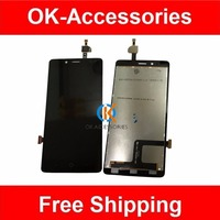 100 High Quality For ZTE A880 LCD Display Touch Screen Digitizer Black Color 1PC Lot Free