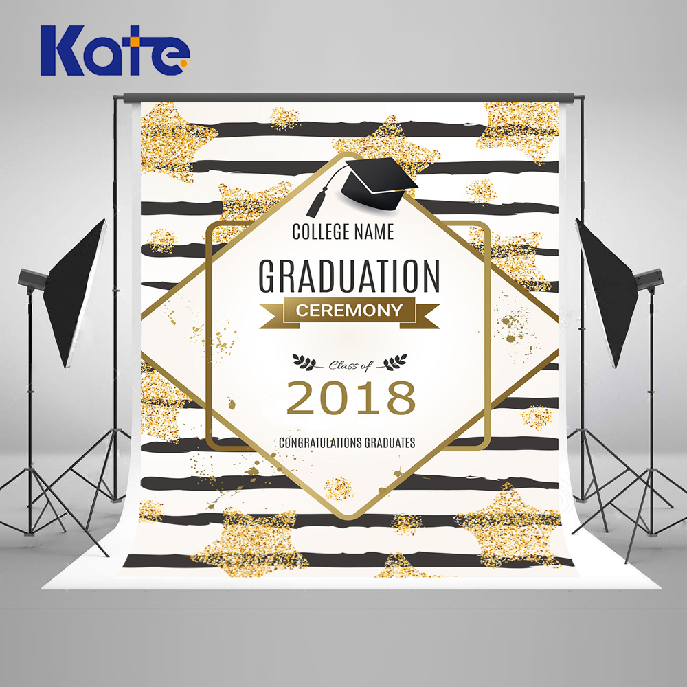 Kate 10ft  Graduation Backdrop Photography Back To School Photo Studio Background Party