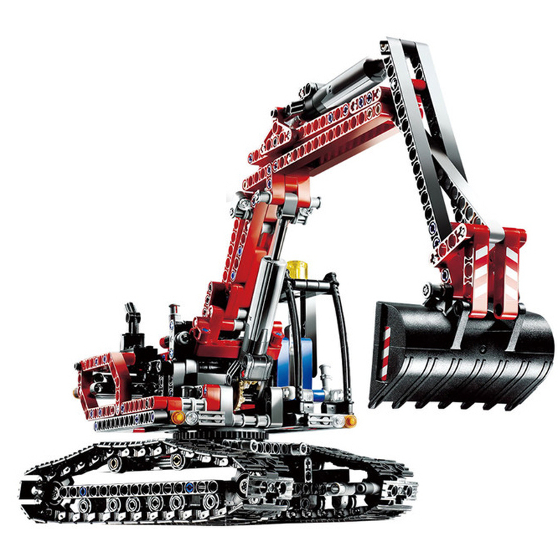 Lepin 20025 Excavator building bricks blocks Toys for children boys Game Model Gift Compatible with Bela 8294 lepin 22001 imperial flagship building bricks blocks toys for children boys game model car gift compatible with bela decool10210
