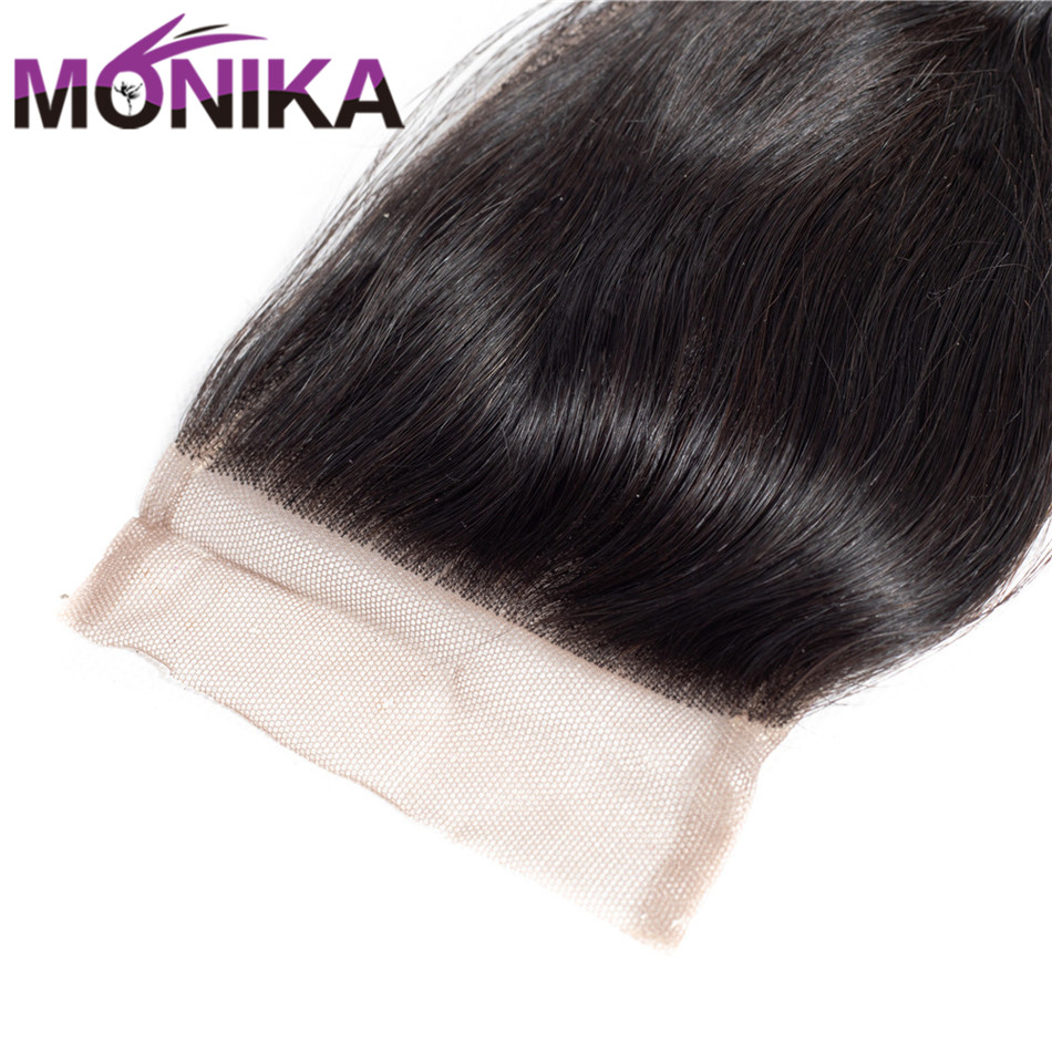 Monika Indian Hair Closure loose wave Human Hair Lace Closure 8-22 Free/Middle/Three Part available