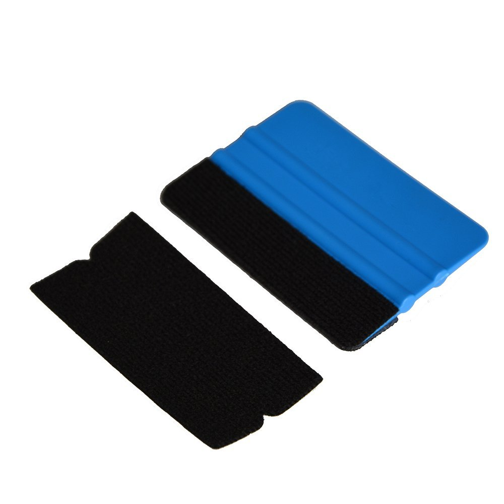 Image 5 - FOSHIO Carbon Fiber Car Wrap Tools Vinyl Wrapping Squeegee Scraper Foil Film Sticker Cutter Auto Window Tint Car Cleaning Tool-in Scraper from Automobiles & Motorcycles