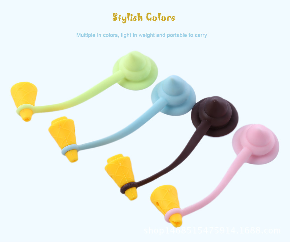 5PCS USB Cable clip Earphone Protector Colorful Earphones Cover For Apple iPhone Samsung HTC Free shipping