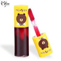 FM 10 Pcs Pack Cute Cartoon Matte Velvet Lipstick Long Lasting Waterproof Makeup Beauty Lip Gloss