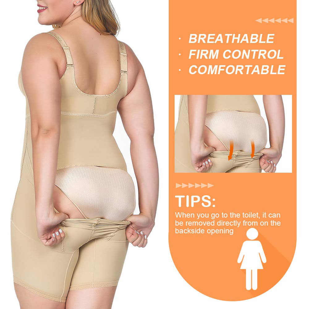 1eb7ab221f ... Lover Beauty Full Body Shaper Plus Size Corset Waist Trainer Butt Lifter  Thigh Reducer Panties Tummy ...