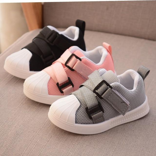 ec47540f18b25 2019 printemps bébé chaussures décontractées mode garçons et filles  chaussures de sport antidérapant doux nouveau-