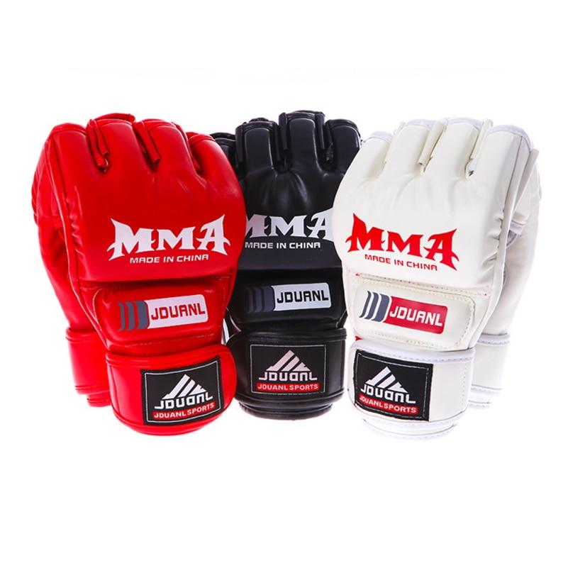 MMA Boxshandskar Hög kvalitet PU Läder MMA Muay Thai Gym Taekwondo - Sportkläder och accessoarer