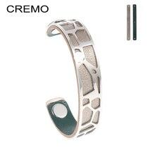 hot deal buy cremo love bracelets screw bracelets for women 14 mm stainless steel bracelets & bangles crystal gold color women jewelry gift