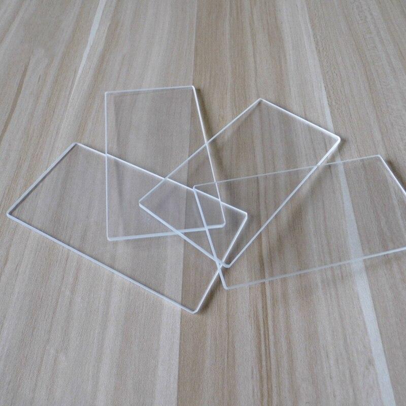 De vidrio de borosilicato de placa de construcción para MK2 Wanhao Comité ANET Prusa etiqueta Monoprice Creality 3D impresora de cama ()