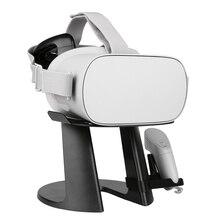Виртуальная реальность 3D очки виртуальной реальности Гарнитура дисплей станция для Oculus Go полка для хранения samsung gear для sony playstation Vive Focus