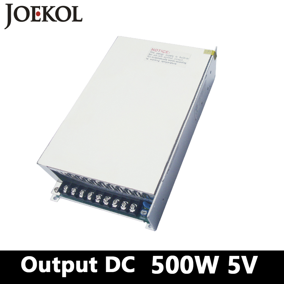 Switching Power Supply 500W 5v 70A,Single Output AC DC Converter For Led Strip,AC110V/220V Transformer To DC 5V,led Driver
