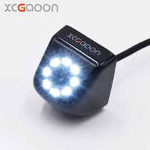 XCGaoon CCD Car Rear View font b Camera b font Waterproof IP67 Wide Angle 8 LED