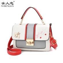 ФОТО nvrenlian leather mini women crossbody bag designer fashion female shoulder bags handbag messenger bag sac a main