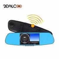 Dealcoo 5 Car DVR Digital Video Recorder 3 In 1 1080p HD Radar Detector Dual Lens