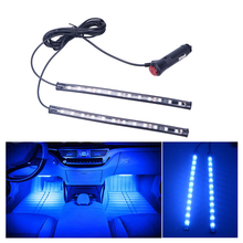CARLitek 2×12 led car decorative light inteior atmosphere lights luces coche automotivo luz para carro lampadas decorativas