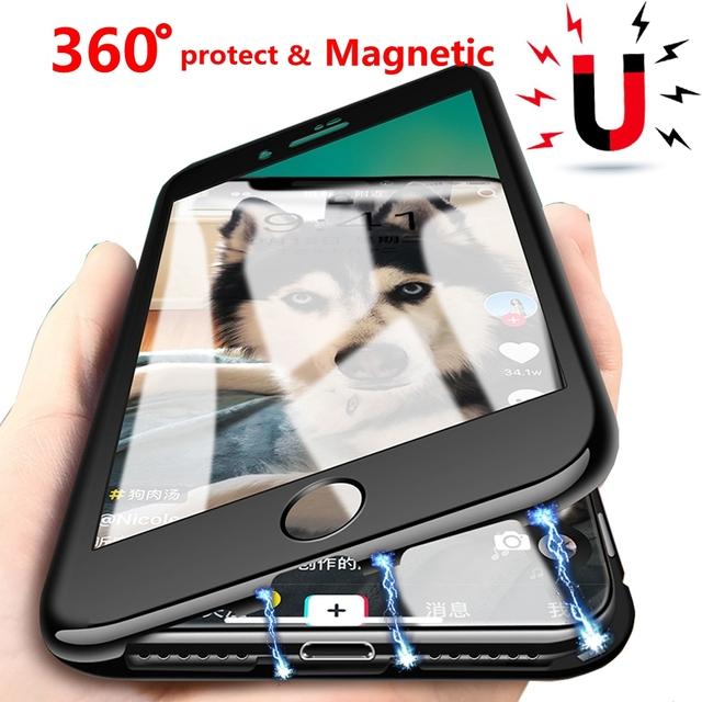 coque premium magnetique iphone 6