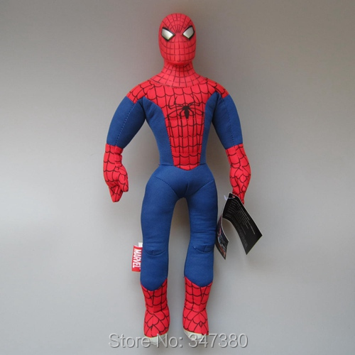 "Super Hero Spiderman Plush Toy Soft Stuffed Doll Kids  Birdthday Gift 18""45 CM"