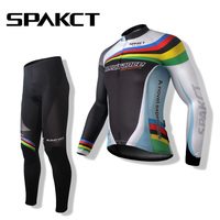Spakct Clearance Long Sleeves Cycling JerseyOutdoor Sport Winter Autumn High Quality Pro Team Women Men Cycling Clothing Jersey