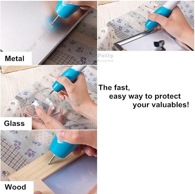 Гравировка Ручка для скрапбукинга инструменты Канцелярские DIY Гравировка это Электрический Carving Pen Машина Серьезнее Tool Гравера 5509