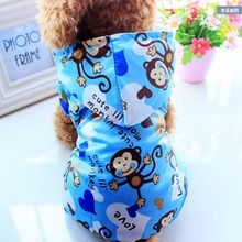 GLORIOUS KEK New Arrival Dog Raincoat for Small Dogs Waterproof Pet Clothes Outdoor Clothing Dog Cat Hooded Raincoat
