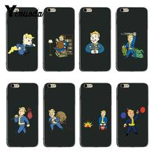 Yinuoda PIP Anak Fallout DIY Dicat Indah Aksesoris Case untuk iPhone 6 Plus 6 S 7 Plus 8 PLUS X XS XR Coque Shell(China)