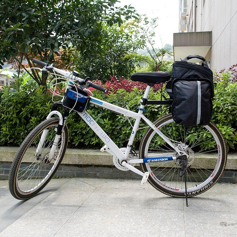 Sales ROBESBON Waterproof Mountain Road Bicycle Bike Bag Cycling Double Side