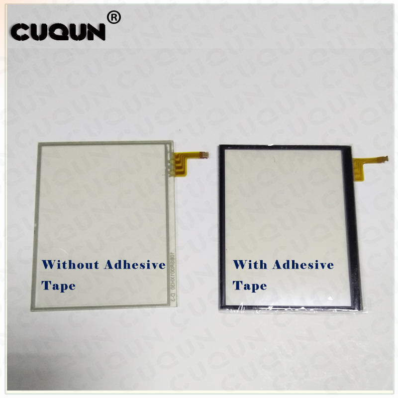 Transparent Touch Screen For ND SL Touch Pad For Nintend DS Lite Touch Panel Screen For DSL With/Without Adhesive Tape