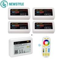 1pcs Wifi iBox2 Led Controller 2.4G Milight RF+4Pcs RGB/RGBW/RGB CCT 4 zone Controller+1Pcs Remote Control