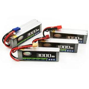 Image 5 - Lipo Batterij 4S 14.8V 3000Mah 40C Voor Rc Drone Vliegtuigen Quadcopter Helicopter Vliegtuig Auto Afstandsbediening Speelgoed lithium Batterij