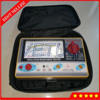 0.5-2000MOhm Analog Insulation Tester TY6045 Pointer Resistance Tester 1000V-500V-250V-100V Resistivity Measuring Instrument
