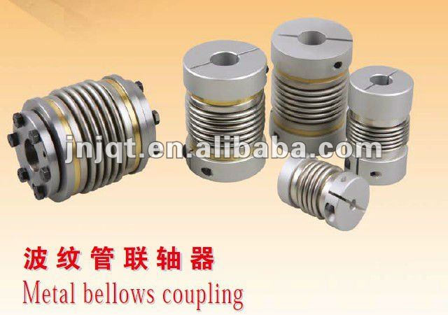BW40T metal bellow coupling for servo motor and step motor bw55c od55 l74 flexible metal bellow coupling bellow types couplings bellows coupling shaft coupling