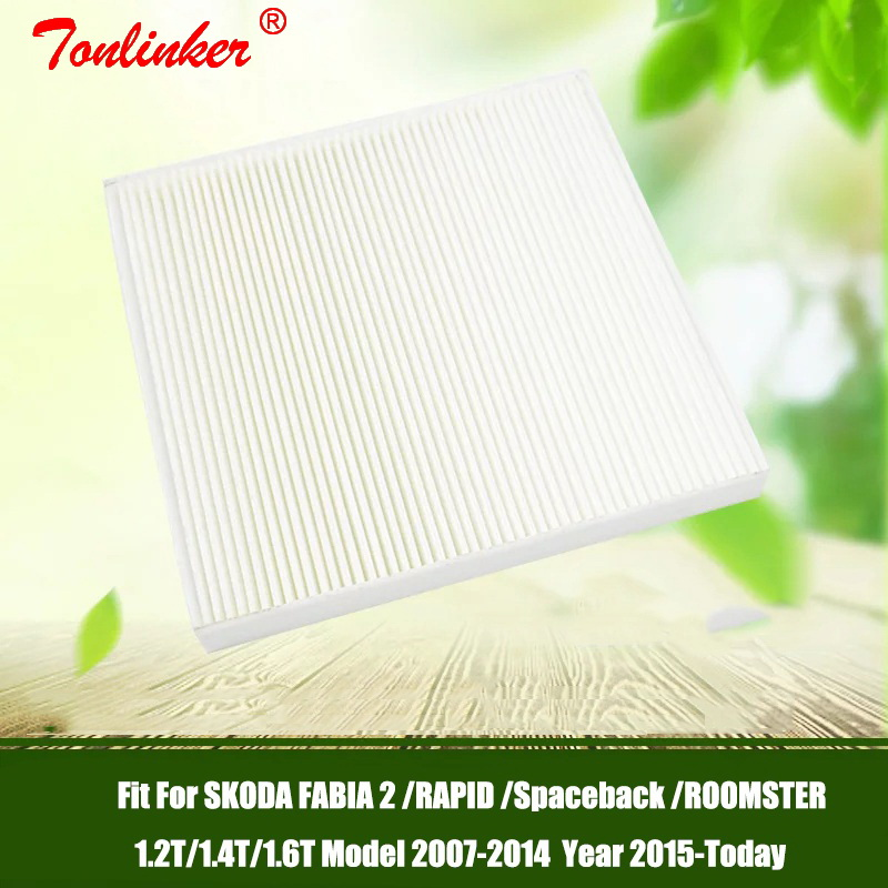 Image 5 - Cabin Filter Fit For SKODA FABIA 2 RAPID ROOMSTER Spaceback 1.2TSI 1.4T 1.6TDI 2007 2014 2015 Today1 Pcs Filter Car Accessoris-in Cabin Filter from Automobiles & Motorcycles