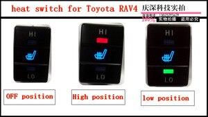 Image 3 - 2 seats/lot,12V,the alloy car seat heater for Toyato RAV4, car heater, car seat heated pads for Toyota RAV4 car heater