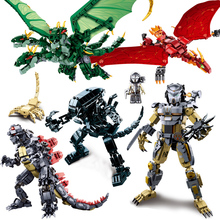 Pacific Rim Movie Series Building Block Set Model Robot Armor DIY Legoes Bricks Educational Toys Kids Gifts