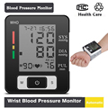 2016 Brand New Digital Automatical LCD Wrist Blood Pressure Monitor Arterial Pressure Automatic Blood Pressure Tonometer