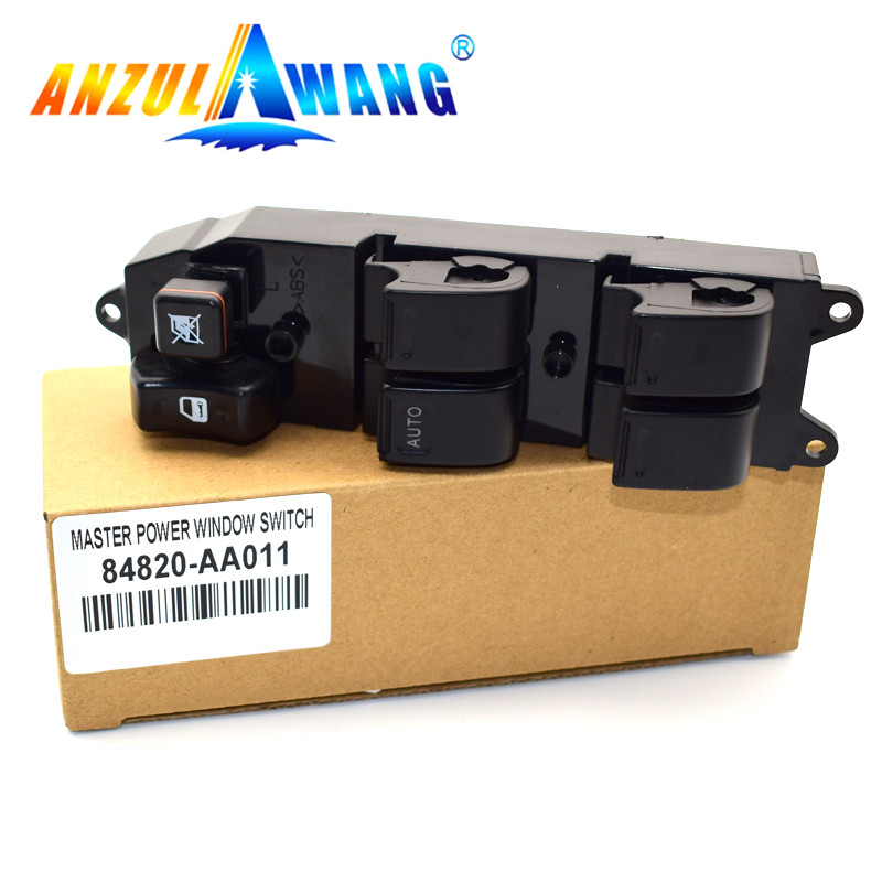 High Quality Electric Power Window Master Control Switch For <font><b>Toyota</b></font> Yaris Echo <font><b>4Runner</b></font> Hilux Land Cruiser 84820-AA0 84820-60090 image