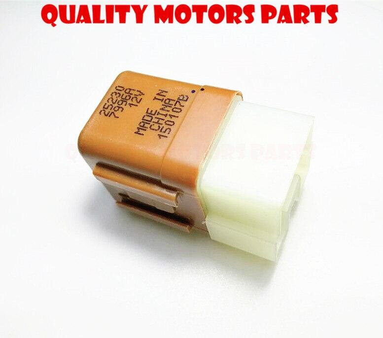 Genuine Nissan Fog Lights Air Con Throttle Motor 4Pin Blue Relay 25230-79917