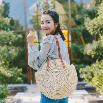 REREKAXI Summer Straw Shoulder Bag 2