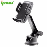 IPOW Universal Long Rigid Arm Dashboard Phone Holder Windshield Holder Cradle Adjustable Car Mount For IPhone
