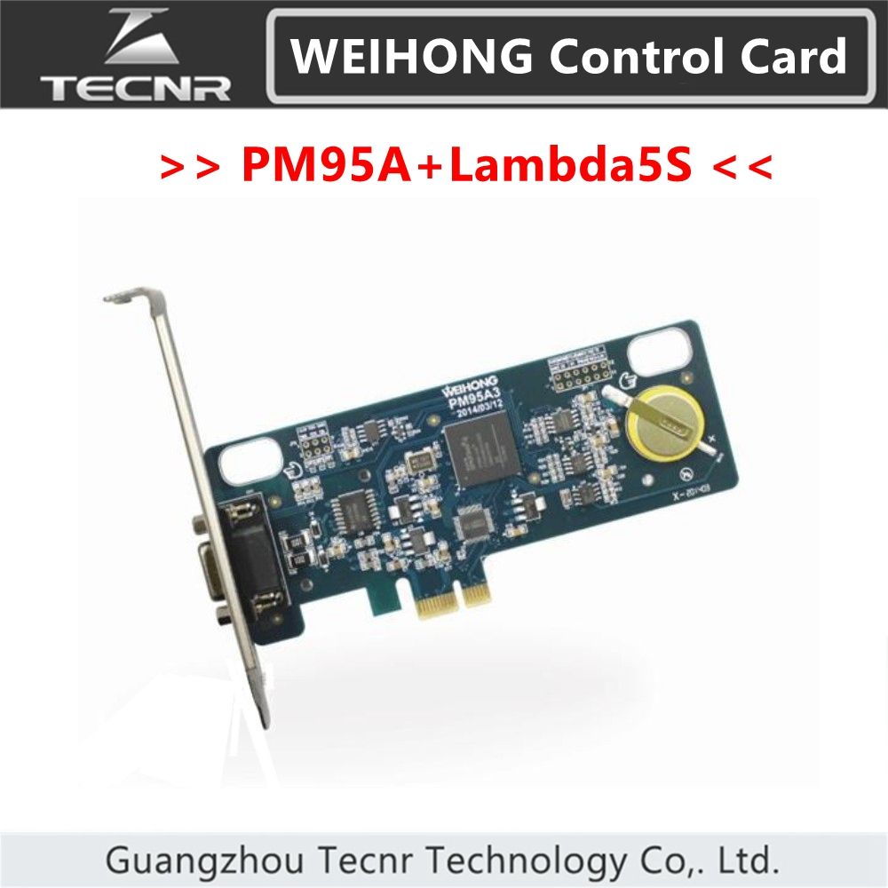 original weihong control card system PM95A+Lambda5S 3 4 5 axis nc studio controller for cnc router replace PM53C