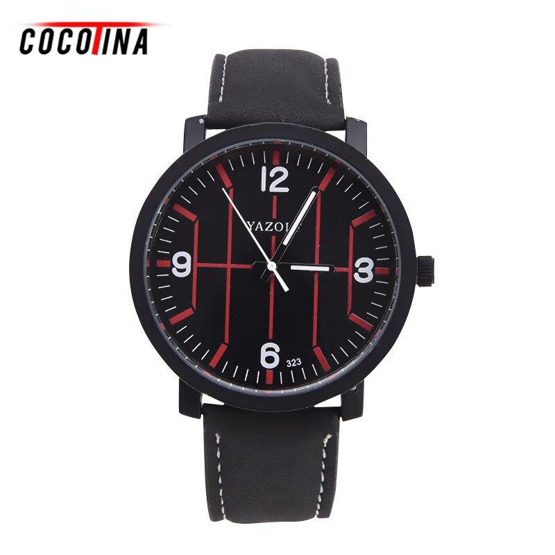 Cocotina 2016 hot business watches men font b curren b font luxury brand casual clock men