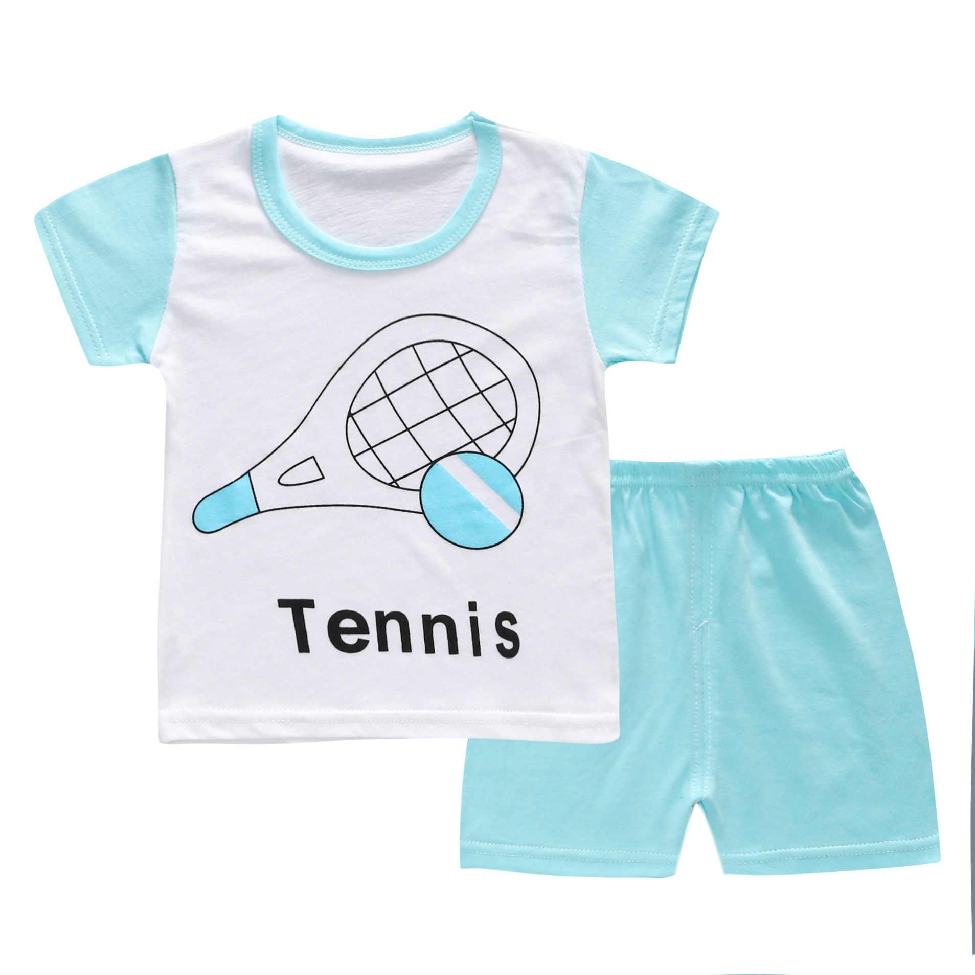 2019 new baby boys clothes set body suit quality 100% cotton children's sets summer cartoon kids clothes sets  girls clothes